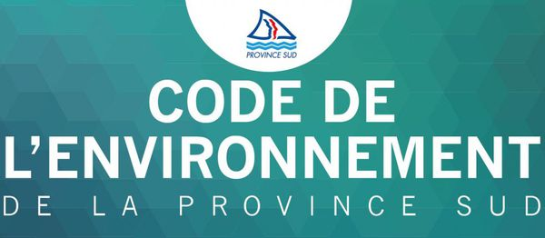 Code environnement province sud