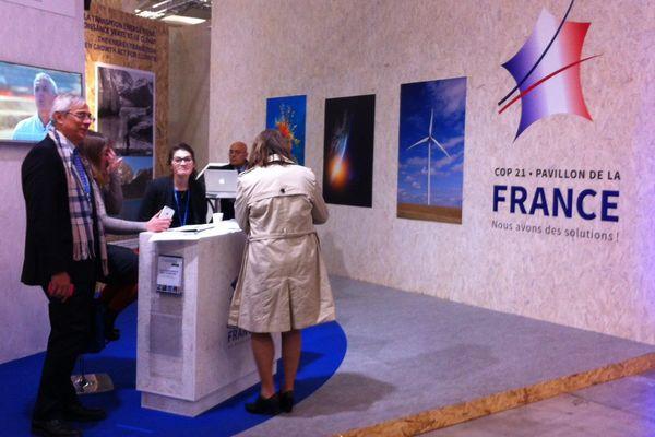 Pavillon France à la COP21