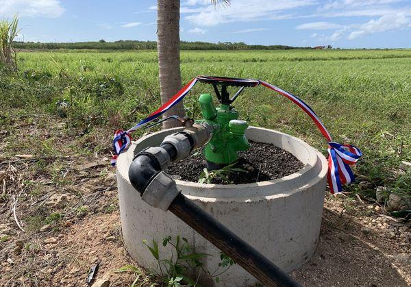 Système d'irrigation pour agriculteurs