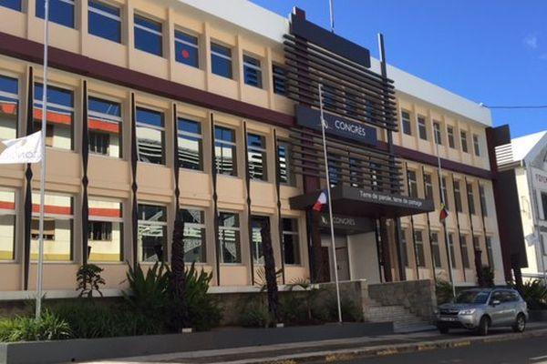 Congrès de la Nouvelle-Calédonie extérieur 240316
