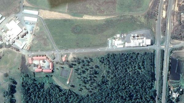 Carte satellite de l'école de La Tamoa