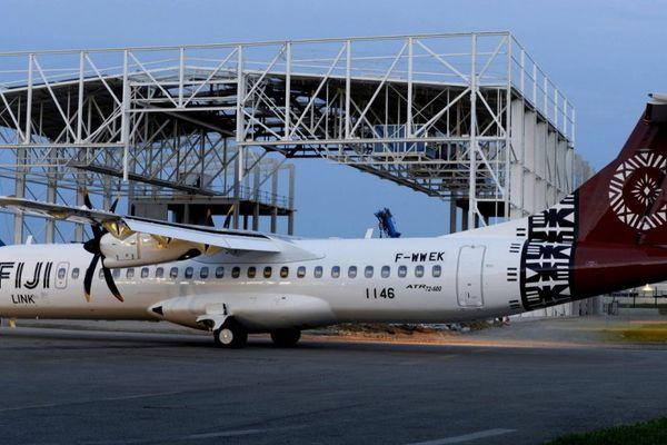 Le nouvel ATR-72-600 de Fiji Link