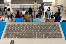 Des ordinateurs pour 36 étudiant de l'Université des Antilles pôle Martinique (juillet 2021)
