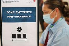 Dans un centre de vaccination anti-covid.