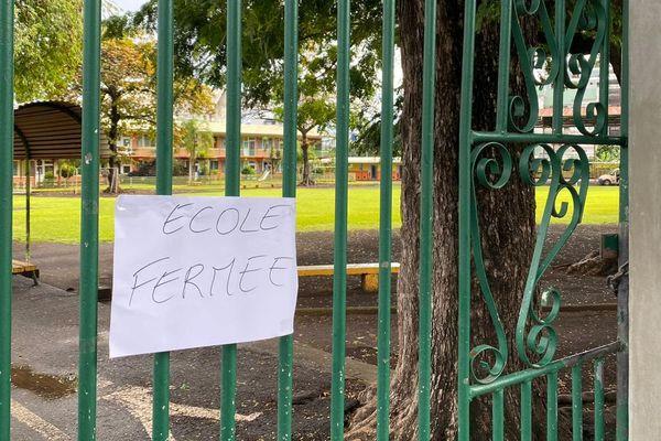 École Fariimata fermée