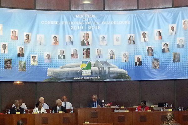 2e plénière extraordinaire du conseil régional