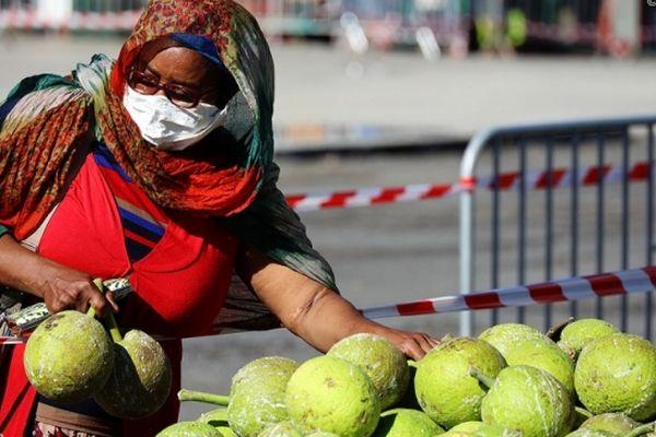 Un marché forain à La Réunion (photo d'illustration).