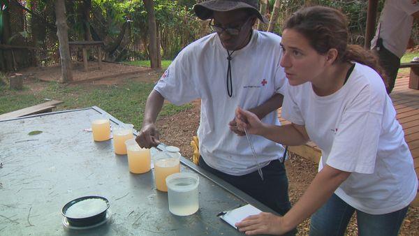 Formation Croix-Rouge eau potable