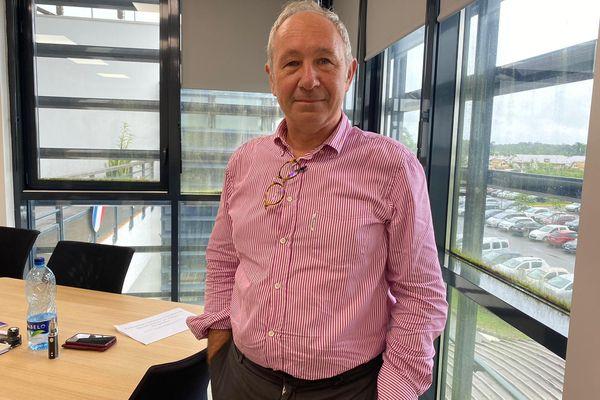 Didier Guidoni - directeur du Centre Hospitalier de l'Ouest Guyanais