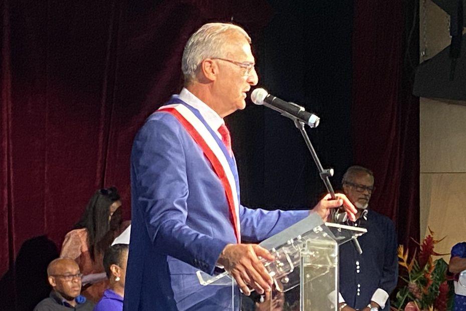 André Atallah, maire de Basse-Terre - Guadeloupe la 1ère