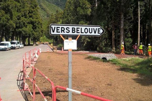 Bébour route forestière
