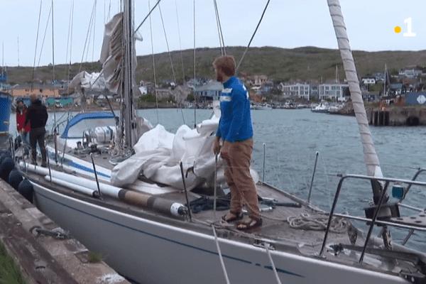 ouragan teddy voilier neerlandais
