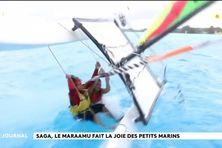 Saga Bora-Bora : le maraamu fait la joie des petits marins