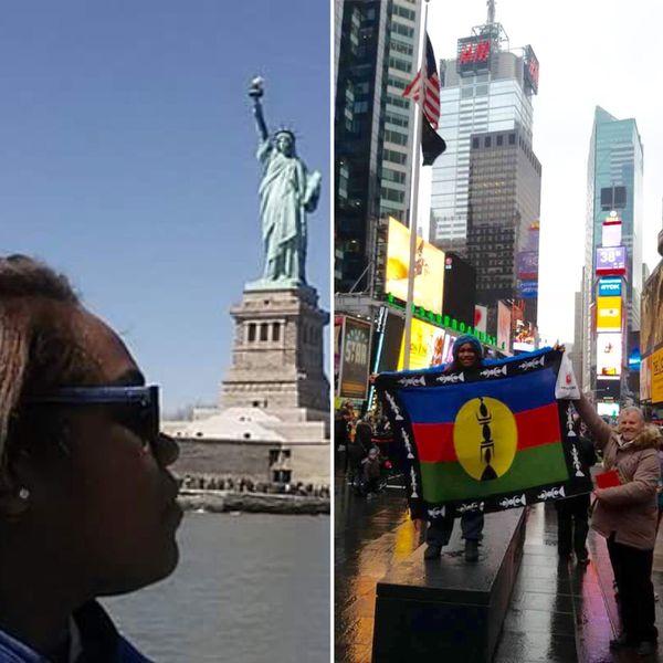 Dominique a pu découvrir New York grâce  à son groupe de gospel
