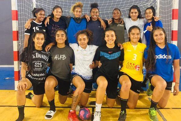 Handball : sélection U17 féminine pour les Océania 2019