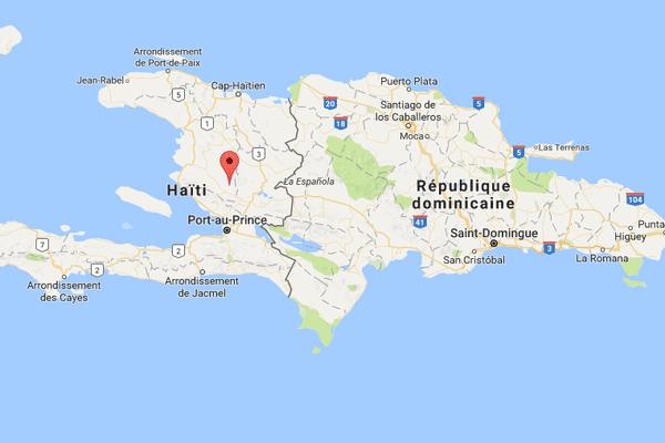 carte Haiti