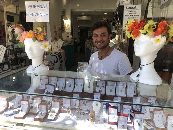 boutique éphémère perles de Tahiti 5