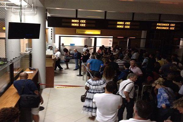Passagers aéroport
