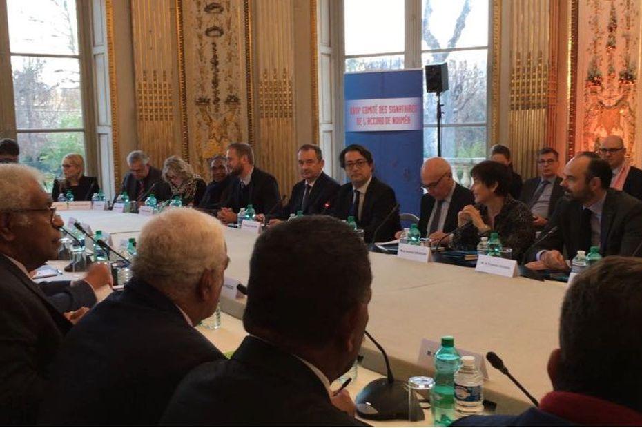 LE XVIIIème Comité des signataires a débuté à Paris - Outre-mer la 1ère