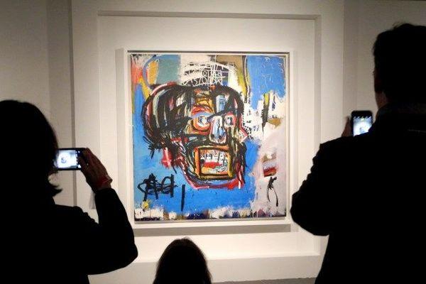 Jean-Michel Basquiat Untitled 1982