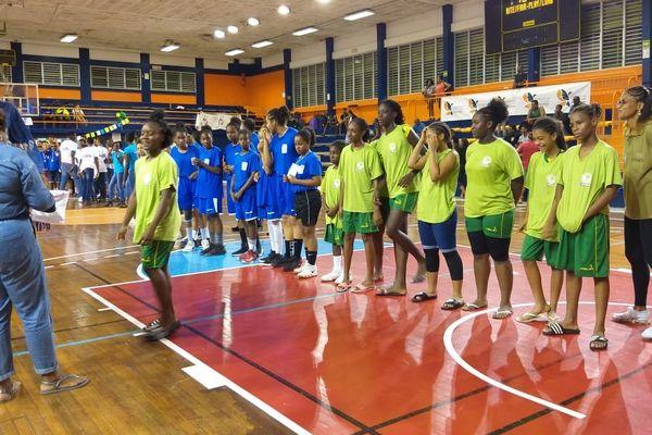 basket U13 Guyane