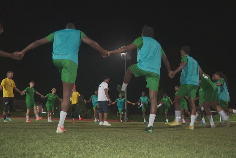 Séances d'entraînement et de cohésion pour les Gwadaboys