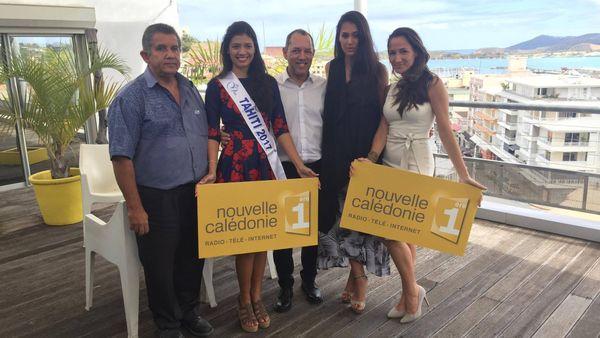 Miss Tahiti à Nouméa