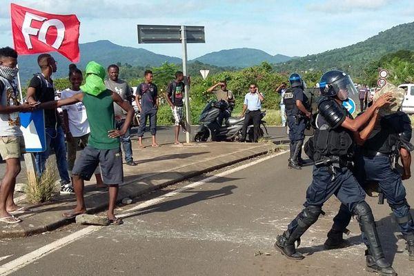 Grève Mayotte