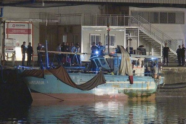 Migrants navire sri lankais 141218