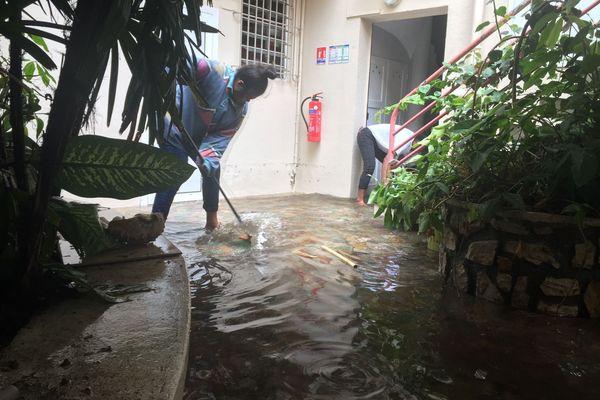 Inondation au centre-ville