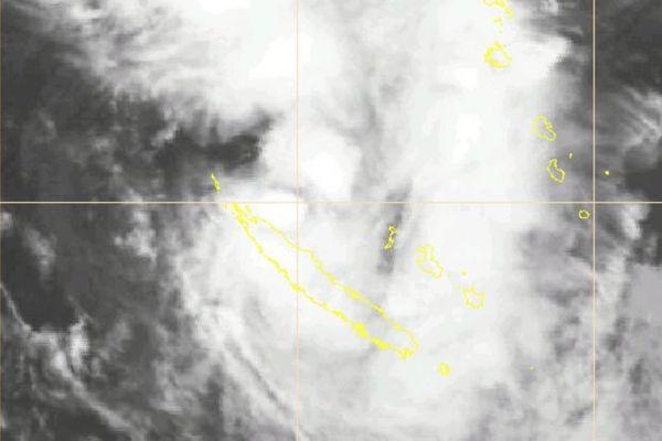 dépression tropicale faible samedi 17h