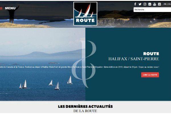 Site web de La Route