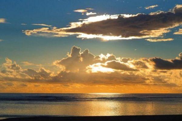 Coucher de soleil sur La Réunion