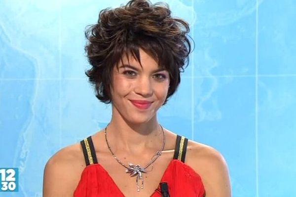 Miss Réunion : Mélissa Delaunay, candidate N°4, dans le journal de la mi-journée