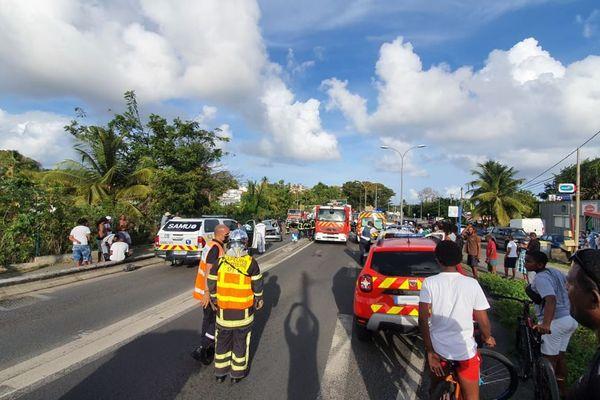 Accident à Saint-Félix Gosier - 23/03/2021
