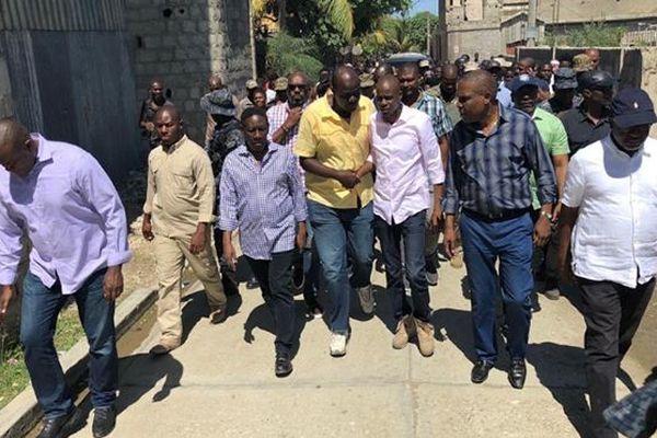 Président Haïti après séisme