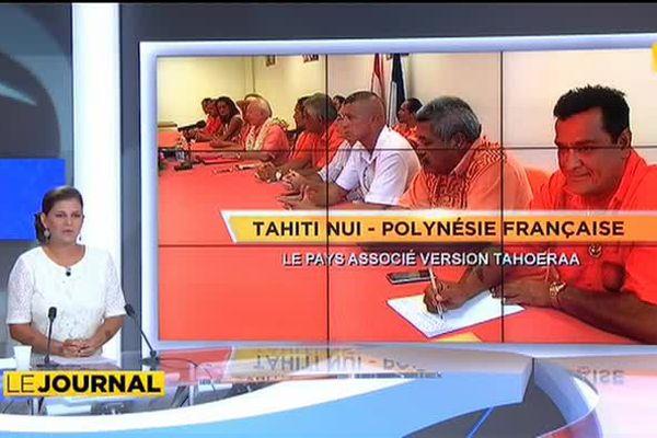 Gaston Flosse veut faire de la Polynésie un pays associé