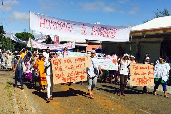 Houailou : marche blanche contre les violences