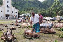 Vaisei à Futuna fête son Saint-Pierre Chanel son Saint-Patron
