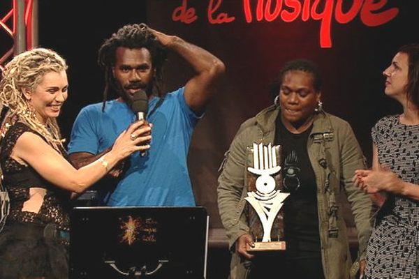 Boagan reçoit le Prix Export des Flèches de la Musique 2014