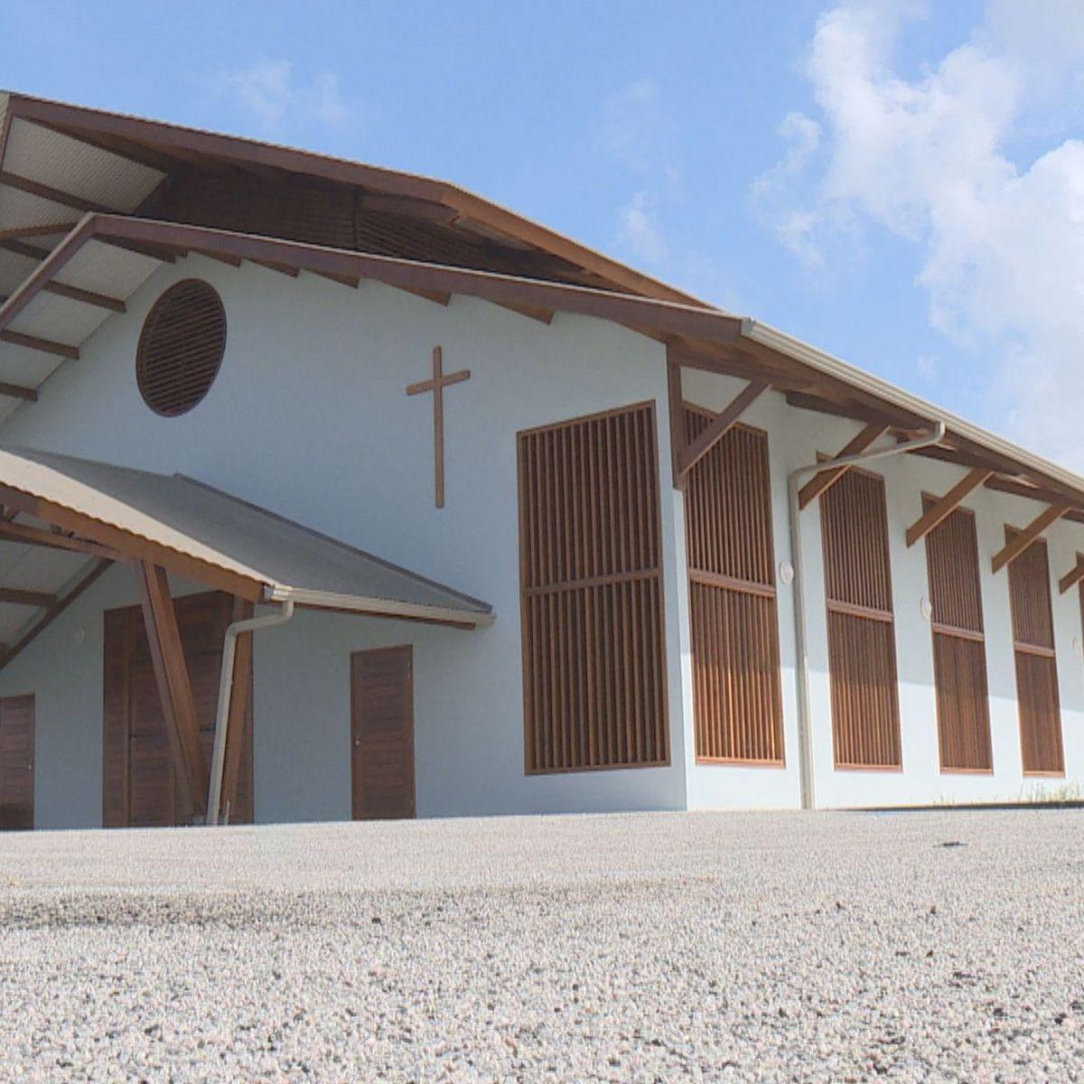 Une nouvelle église pour les paroissiens du quartier Soula à Macouria