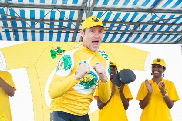 Bradley Huff, maillot jaune