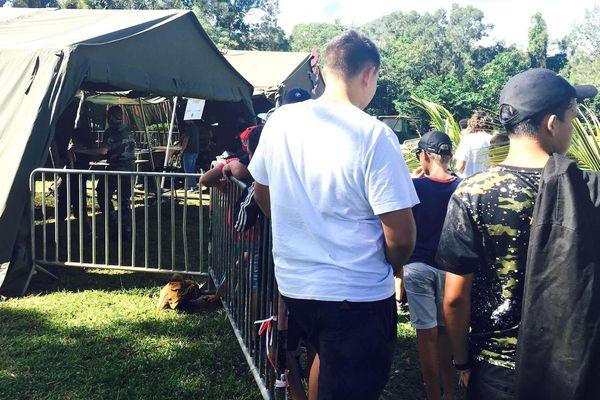 Portes ouvertes au camp militaire du Rimap à Plum, 23 juin 2018