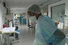 Infirmière à l'hôpital Pierre Zobda Quitman de Fort-de-France.