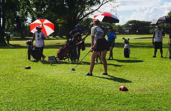 Samoa 2019, dernier jour du golf