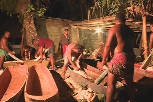 préparation farine de manioc