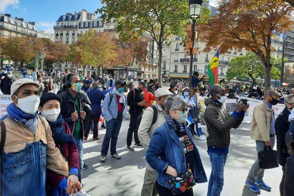 Manifestation Crefom Paris