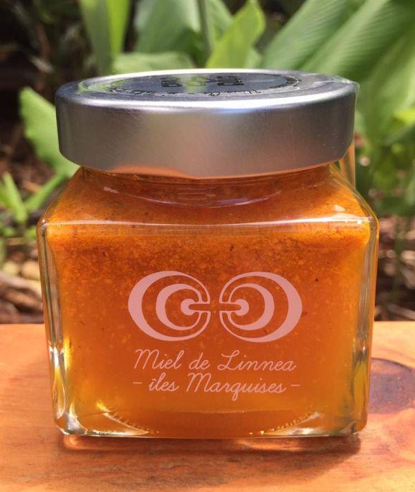 miel au curcuma