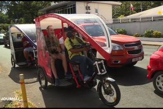 Les vélos-taxis débarquent à Papeete
