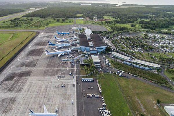 Piste tarmac Pôle caraïbes aéroport